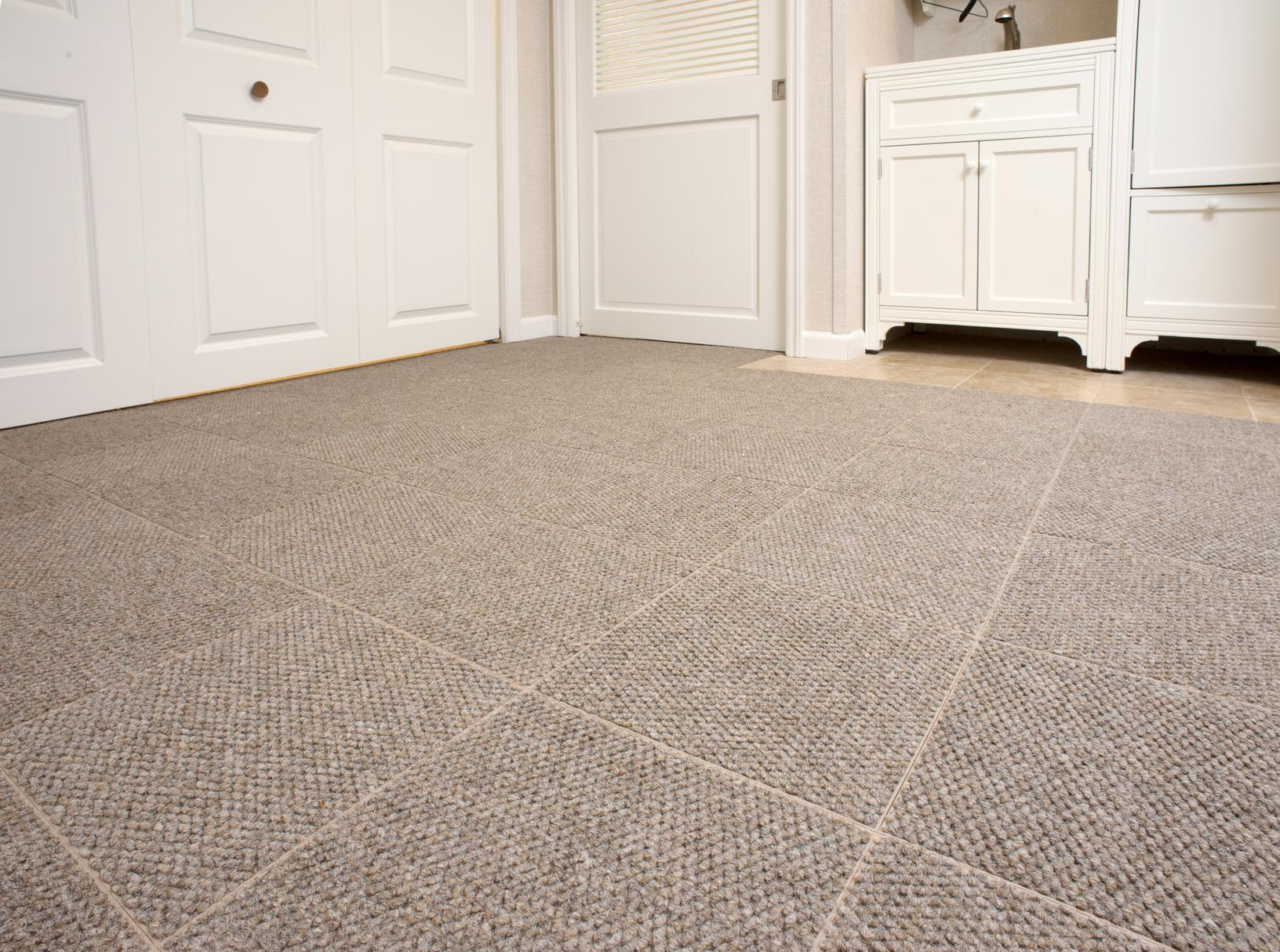 Basement subfloor matting and basement carpeting in Pennsylvania